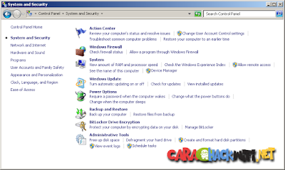 Cara cek update windows 7