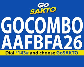 Globe GOCOMBOAAFBFA26 – Unli Data for Only 26 Pesos, FB + Texts
