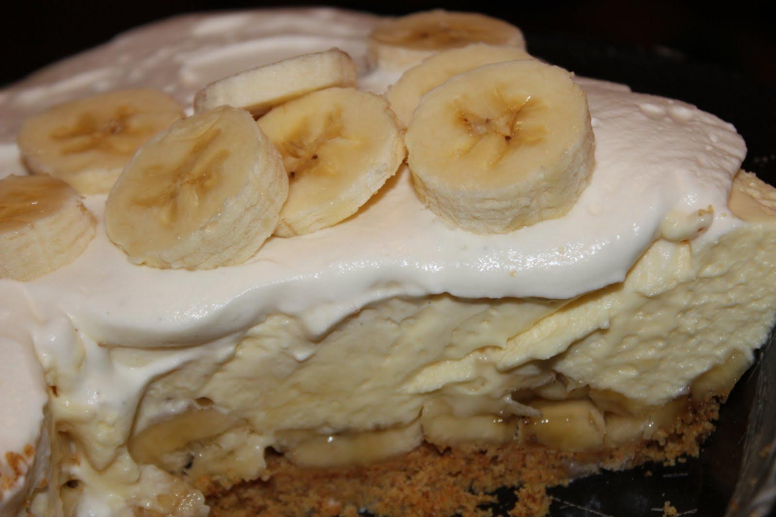 Banana cream pie using pudding mix-2850