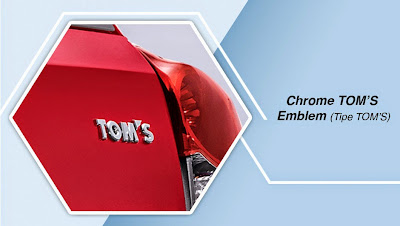 toyota etios chrome tom's emblem