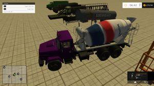 Kraz truck + russian trailers pack