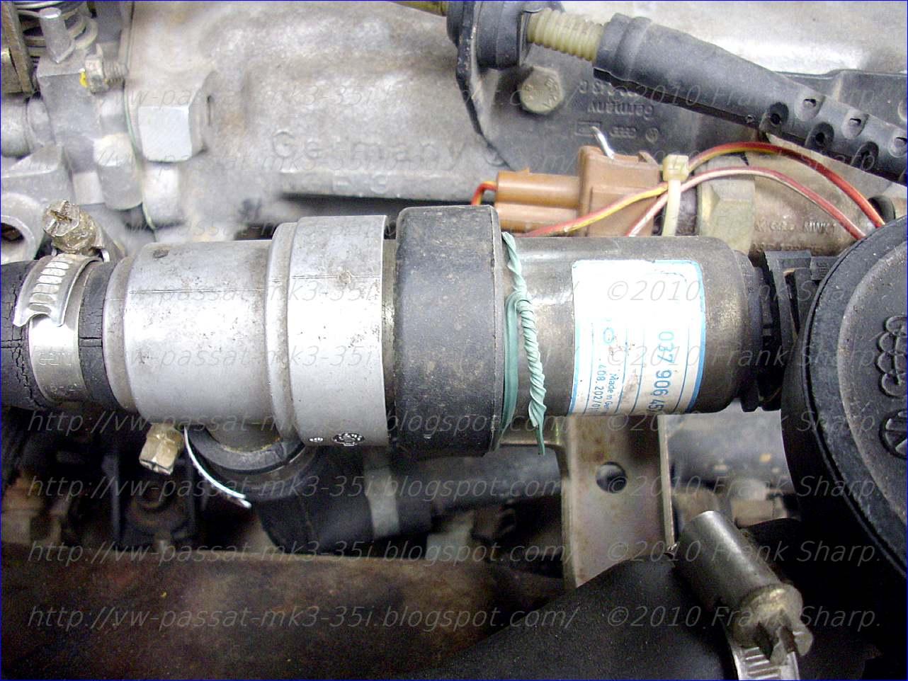 VOLKSWAGEN PASSAT: VOLKSWAGEN PASSAT ENGINE CONTROL
