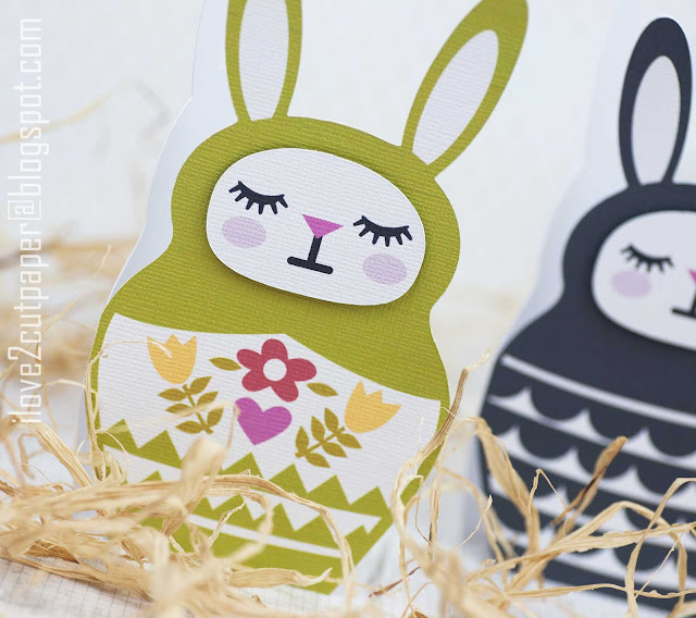 Bunny Babboshka, Easter bunny, ilove2cutpaper, LD, Lettering Delights, Pazzles, Pazzles Inspiration, Pazzles Inspiration Vue, Inspiration Vue, Print and Cut, svg, cutting files, templates, Silhouette Cameo cutting machine, Brother Scan and Cut, Cricut