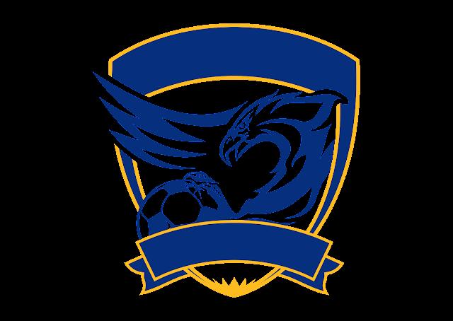 Free Template Football Logo Vector (CDR) CorelDraw PNG & AI