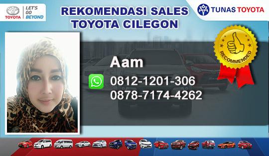 Rekomendasi Sales Tunas Toyota Cilegon