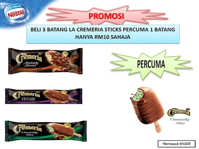Nestle La Cremeria Sticks