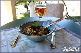 Sicilian summer salad