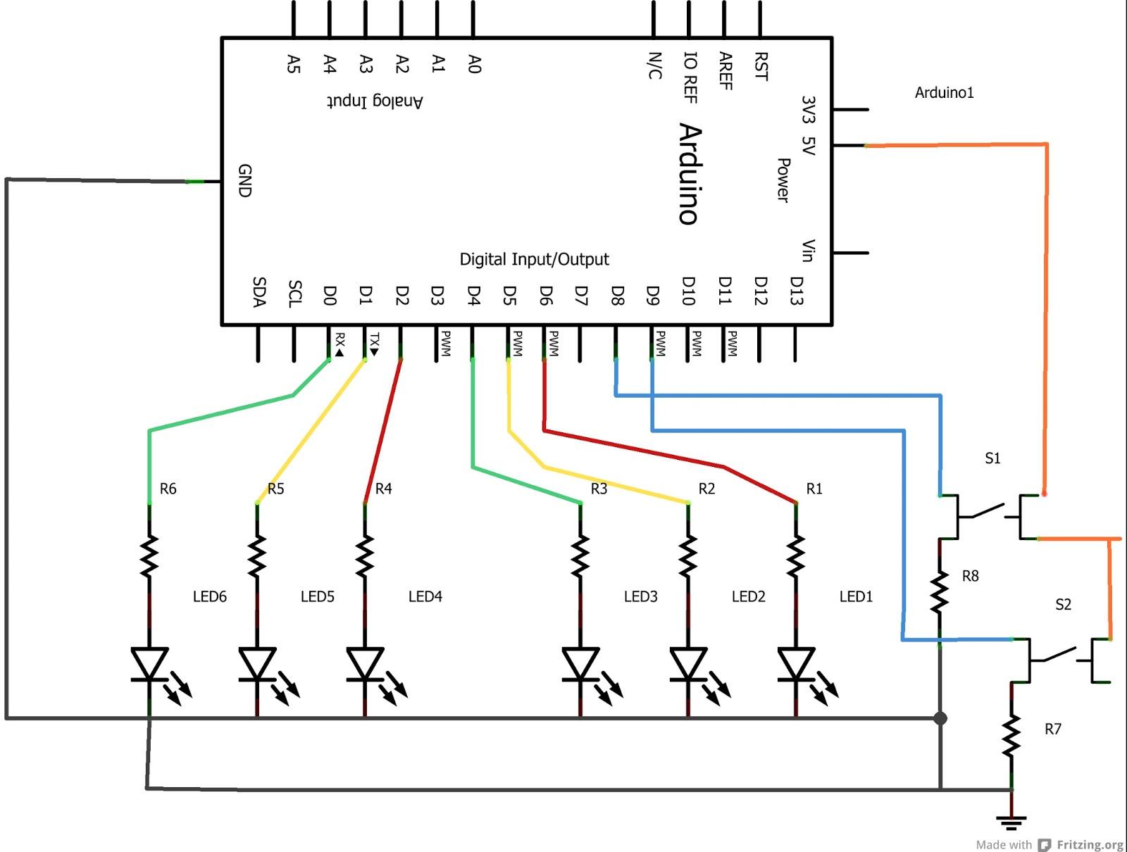 Schemi Elettrici Arduino : Avventura arduino semaforo pedonale
