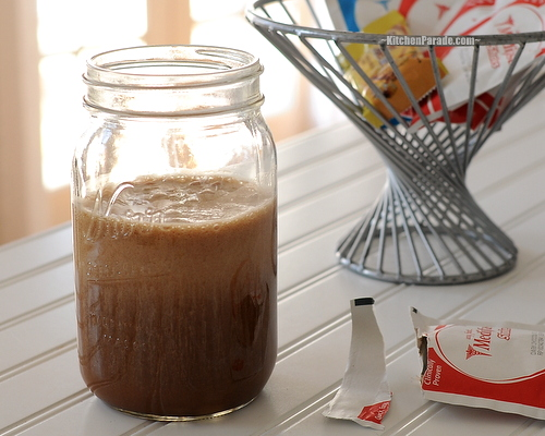 Medifast Chocolate Shake Meal Replacement ♥ KitchenParade.com (Why I Switched to Medifast from Weight Watchers)