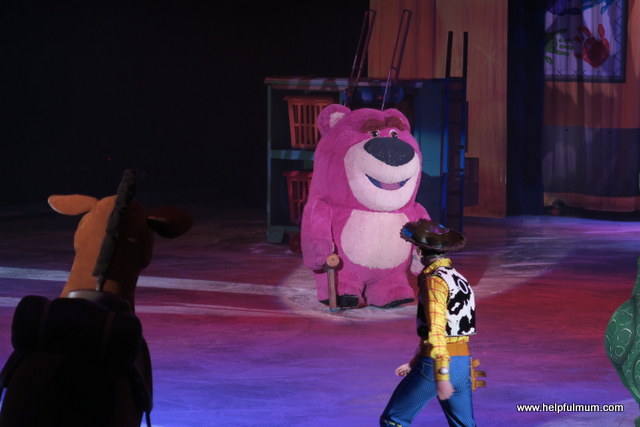 Toy Story Lotso on ice