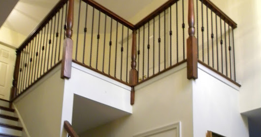 Tuscan Square Hammered Iron Balusters Horsham PA