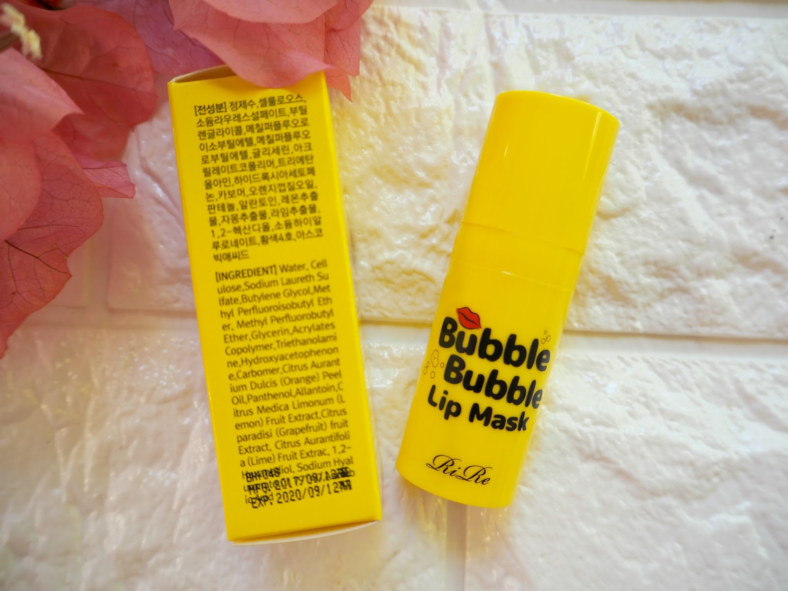 www.poshmakeupnstuff.blogspot.com: Rire Bubble Bubble Lip Mask