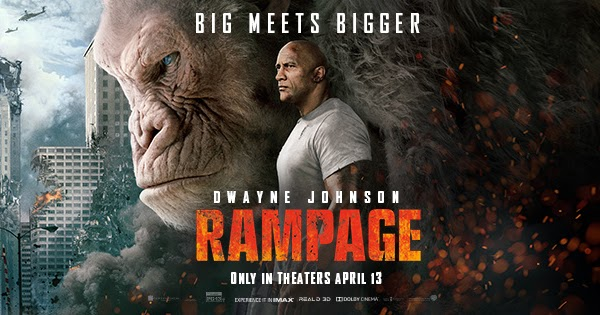 Latest Movie Of 2018 Rampage Review