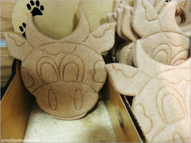 Galletas de Perros en la Tienda de Regalos de la Fábrica de Ben & Jerry's en Vermont