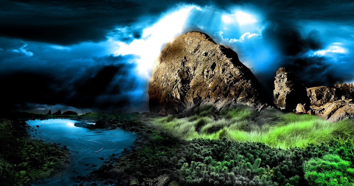 nature wallpapers hd dark desktop landscape nu