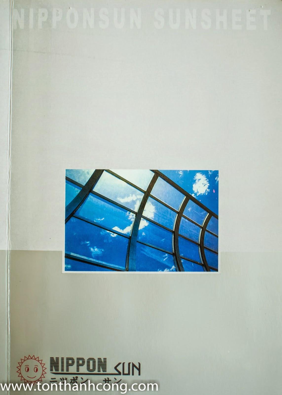 Catalogue Tấm Lấy Sáng Polycarbonate Rỗng Ruột NIPPON - Trang 1