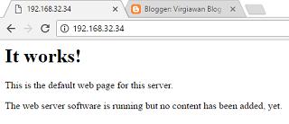 konfigurasi web server