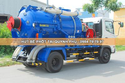 Hút bể phốt giá rẻ tại huyện Quỳnh Phụ