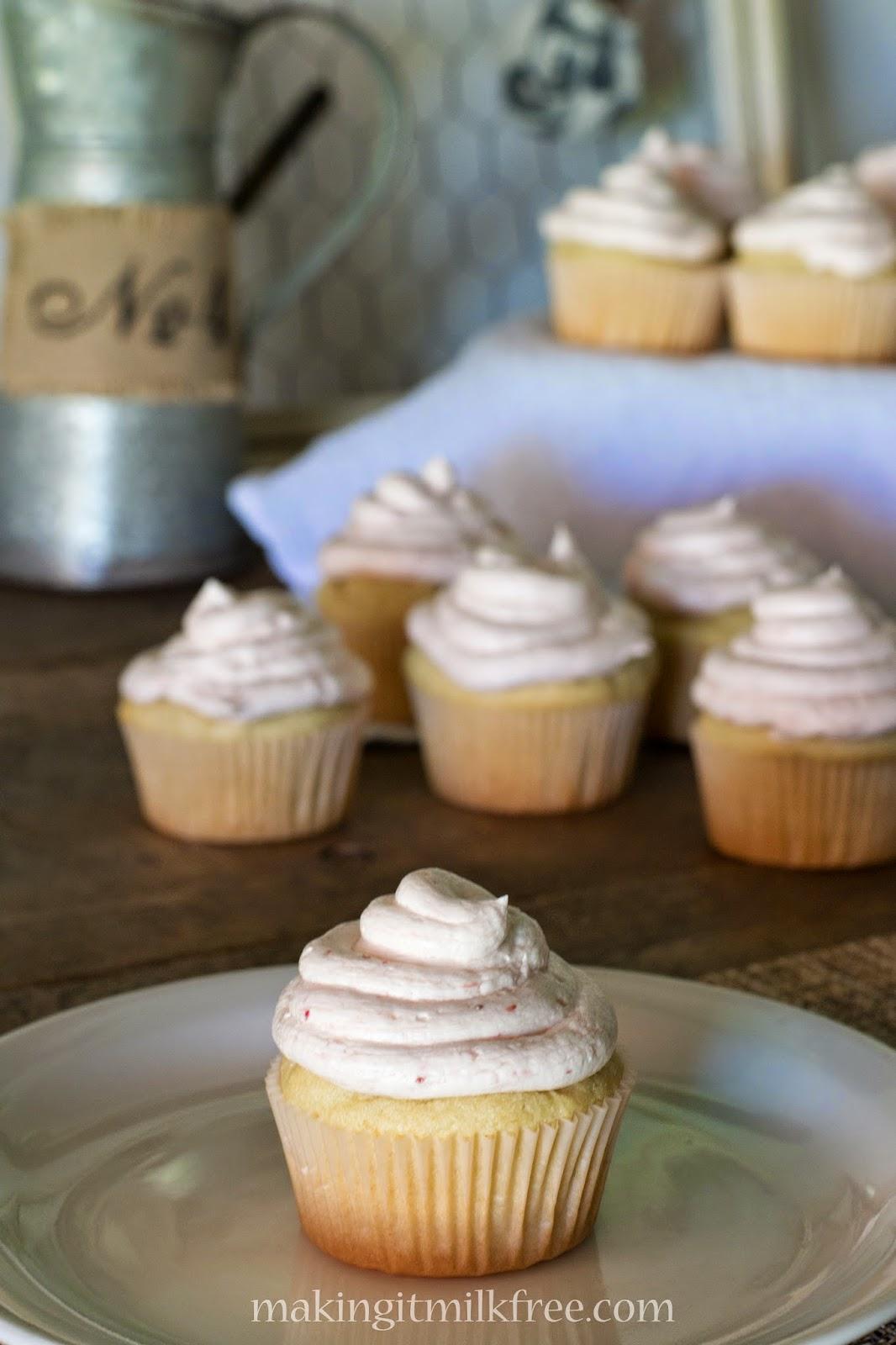 #glutenfree #dairyfree #strawberry #lemonade #cupcakes