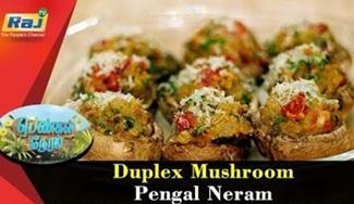 Duplex Mushroom | Food Segment | Pengal Neram | 27 August 2018 | Raj Tv