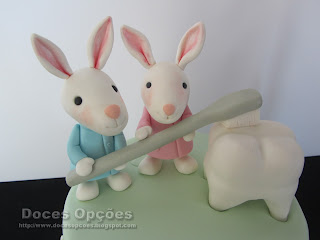 dentist rabbit cake