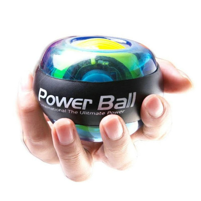 Fitness Trainer Wrist Strengthening LED Power Ball