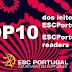 ESC2017: Saiba como votar no 'TOP10 dos leitores do ESCPORTUGAL'