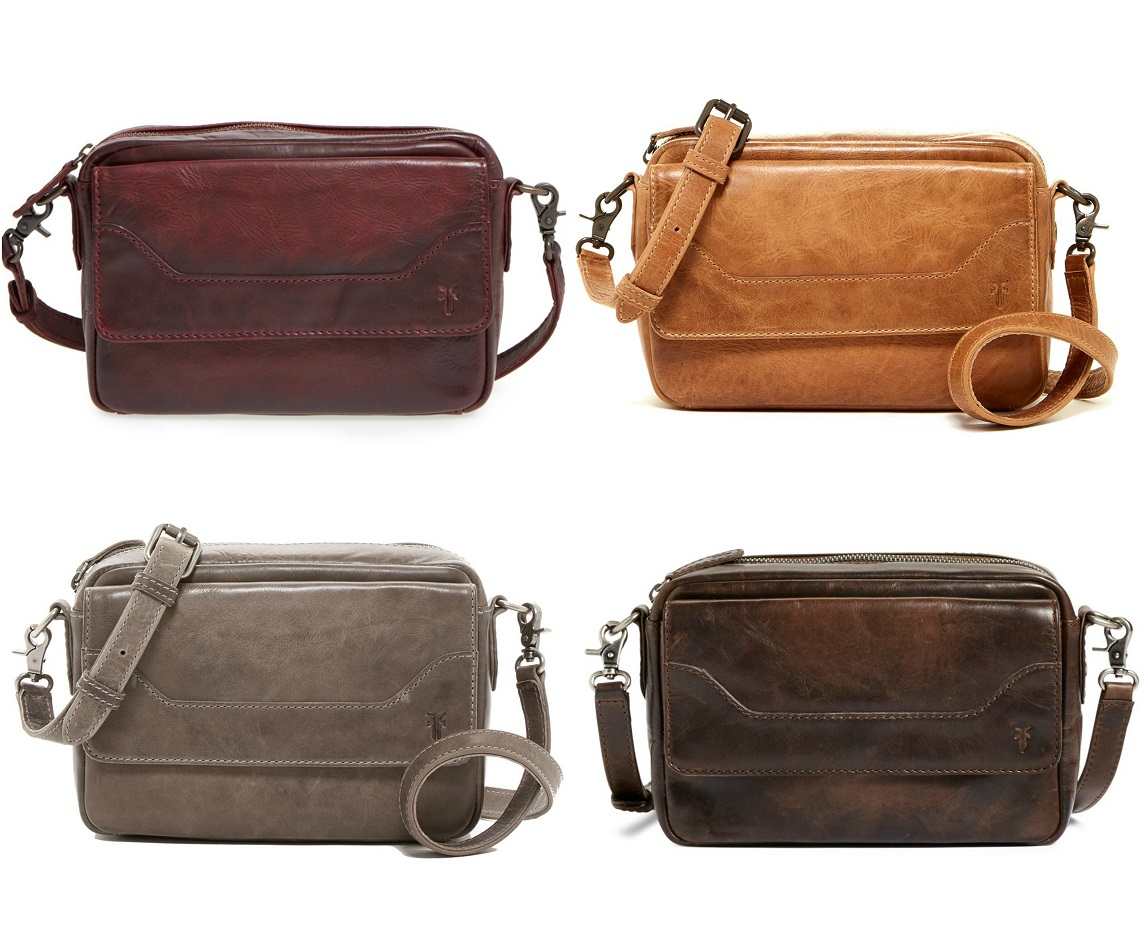 These Frye Melissa Leather Camera Crossbody Bag Are Now On Clearance For 65 Off Free Shipping Such Great Fall Colors Too But You Really Can T