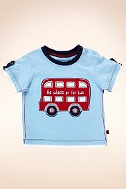 London Bus T-shirt, marks and spencers