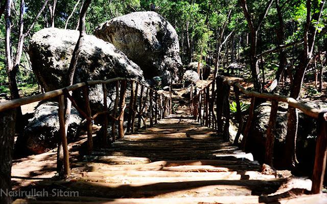 Suasana di Watu Songgo Langit, Mangunan