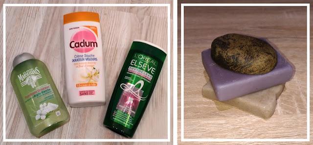 les produits conventionnels ont été remplacés par des savons solides