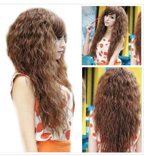 long fashion asian wig