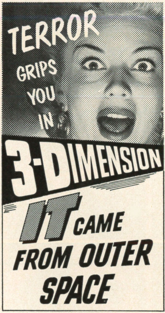 John mcelwee 39 s blog another 3 d leap into living rooms for Watch it came from outer space