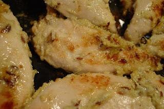 Receta de Pechugas de pollo