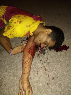 Jovem assassinado brutalmente na Vila Vitória