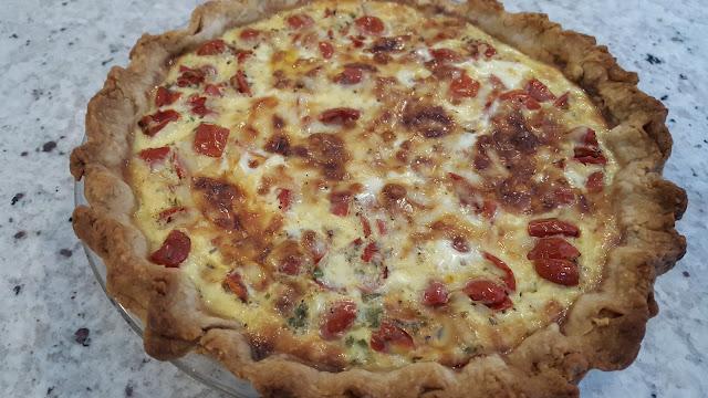 A Perfect Tomato Quiche