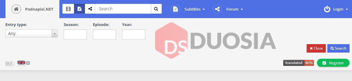 download subtitle di android