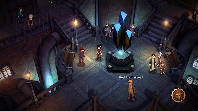 Trulon the Shadow Engine Game Screenshot 1