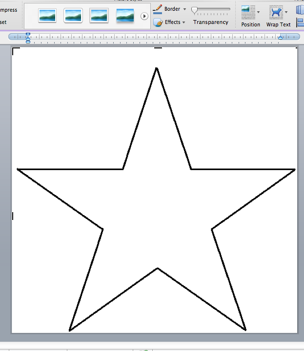 Template Star. template star christmas printable stencil to color ...