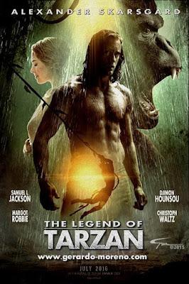 Special ထူးထူးျခားျခား အရမ္းမိုက္တဲ့ The Legend of Tarzan (2016) ရံုတင္ကားသစ္ႀကီး The Legend of Tarzan (2016) HD