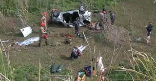 Mulher morre e quatro pessoas ficam feridas em acidente na Paraíba