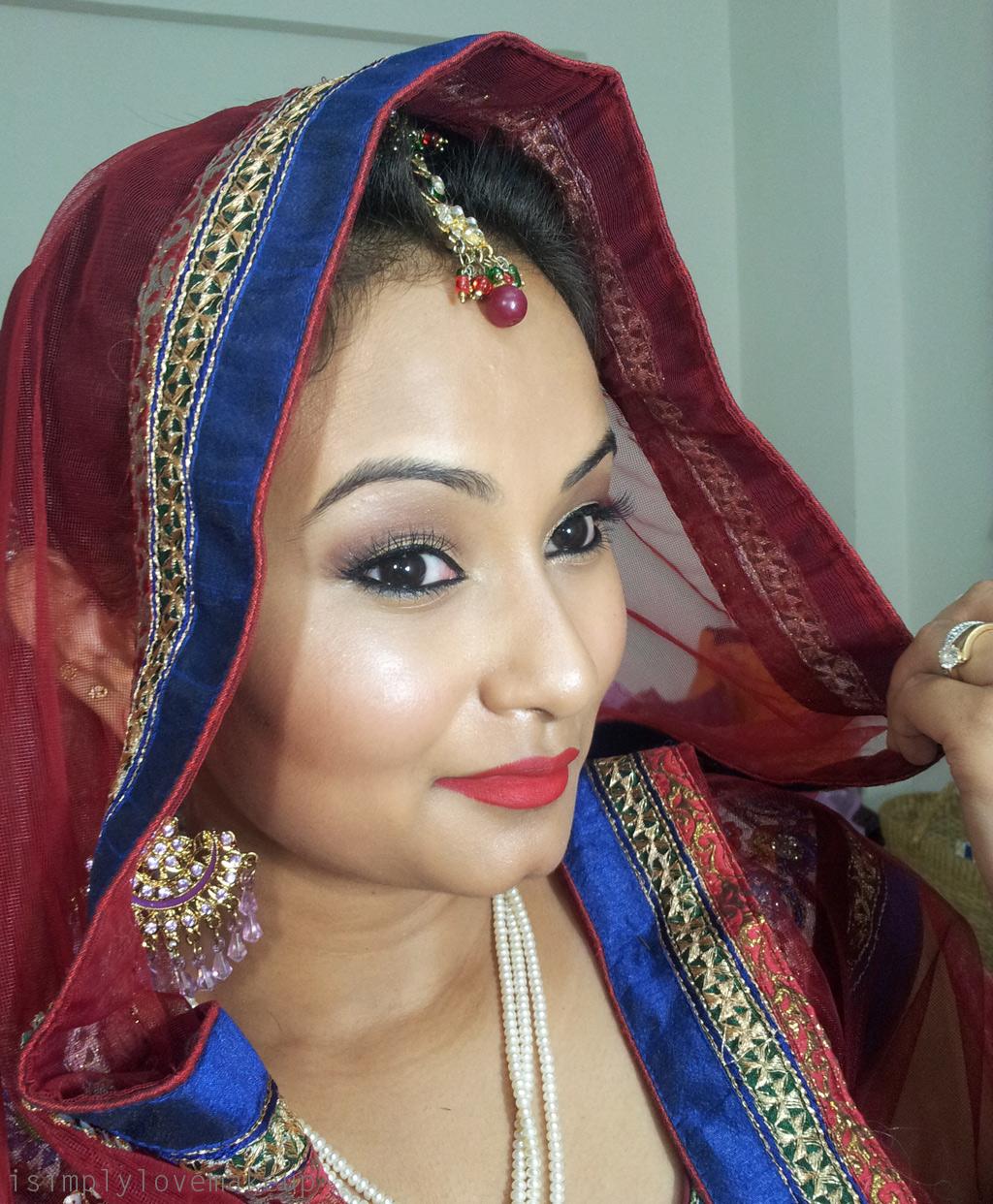 Indian Wedding Makeup: Bridal Beauty: Makeup For An Indian (Night) Wedding