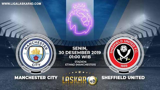 Prediksi Pertandingan Bola Manchester City vs Sheffield Utd 30 Desember 2019