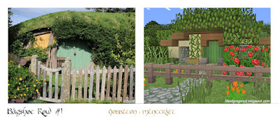 minecraft hobbiton bagshot row party field