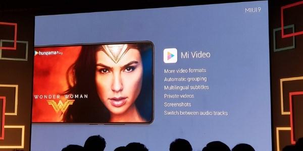 Include MI Video