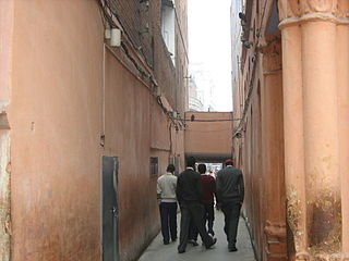 Narrow passage to the Jallianwala Bagh Garden through which the shooting was conducted.