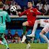 Com 3 gols e recorde de CR7, Portugal empata com a Espanha