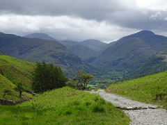 Walking in the Lake District near Grasmere