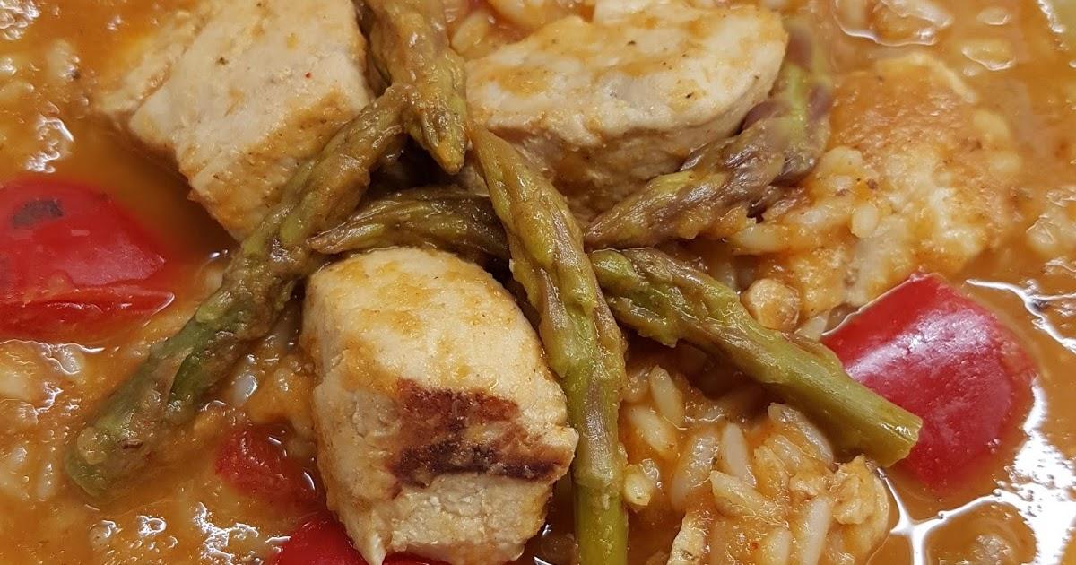 Cocina basica y fresca arroz con emperador o pez espada for Cocinar emperador