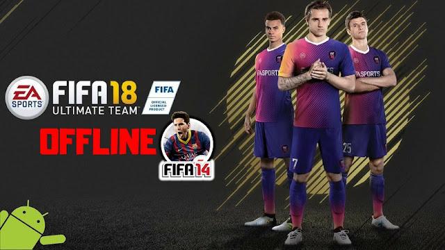 FIFA 18 Mod FIFA 14 غير متصل Android لعبة تحميل